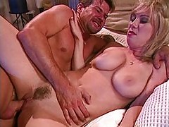 Blond pussy action