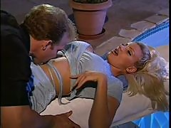 Super Busty Brittany Andrews gets Fucked and Covered in Jizz - Vintage Porn