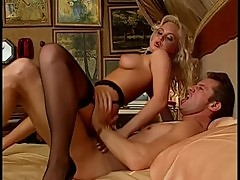 Anal with blonde Silvia Saint