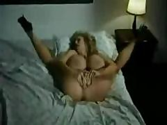Busty Mature Blonde Pounds Her Nasty Pussy With A Dildo In This Vintage Masturbation