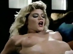 Adult film legend Ginger Lynn in a Double Feature