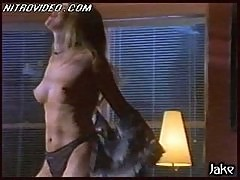 Blonde Beauty Jacqueline Lovell Gets Horny In The Couch