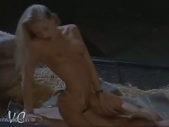 Extremely Beautiful Jacqueline Lovell Gets Fucked In a Barn