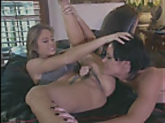 Legends Chasey Lain and Jeanna Fine lesbian lust