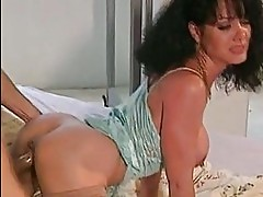 Lusty hot babe Jeanna Fine gets attacked by a huge noodle fr...