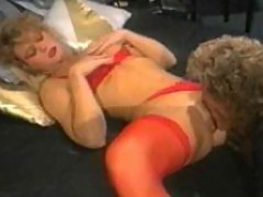 Randy West gets some blonde pussy