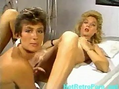 Nina hartley and sharon mitchell hot lesbian action