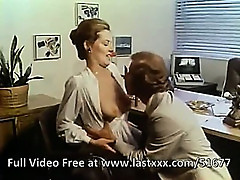 Veronica Hart classic office porno